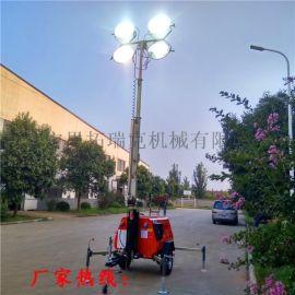 應急工程照明  7米9米升降照明車 防雨淋照射
