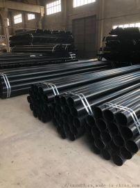 承插式热浸塑钢管 穿线管 涂塑钢管DN150