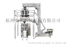组合秤立式机包装系统,立式机卷膜制袋,多头秤称重