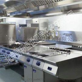 北京房山西式厨房设备清单|西餐牛排店后厨配套设备|