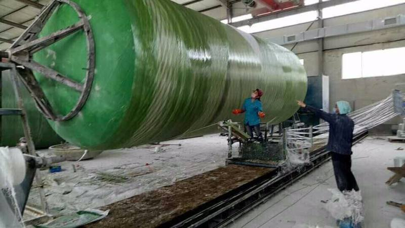 河南标准储罐式玻璃钢整体化粪池无渗漏