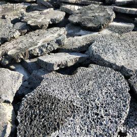 天然洞石异型环保造景火山岩板材