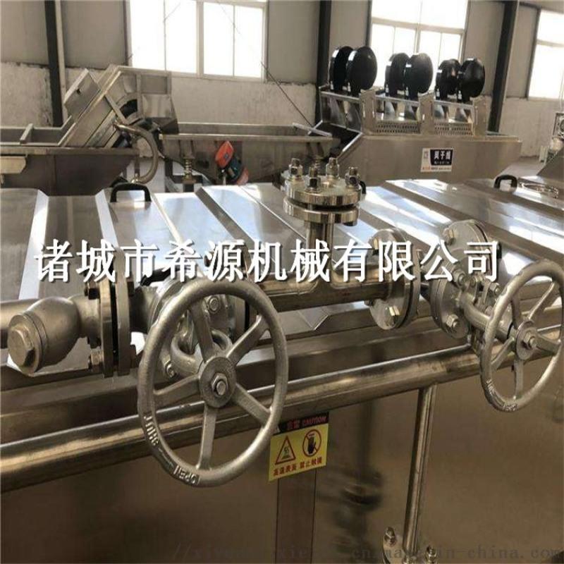 青岛大虾蒸煮机 海鲜蒸煮机 海产品漂烫蒸煮加工设备