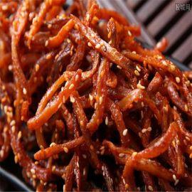 鳗鱼丝炸锅 市场热销自动出料鳗鱼丝油炸机