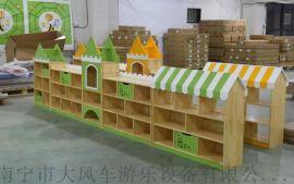 南寧幼兒園組合櫃子都是多少錢一套 南寧大風車設備