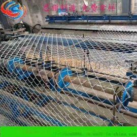 高速公路防护网,山体防滑坡钢丝绳网,SNS包山网