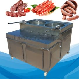 成套加工纯肉香肠腊肠液压不锈钢灌肠机