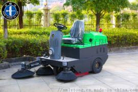 驾驶式电动扫地车,全封闭扫地车