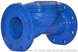 逆止阀H44X(SFCV)型橡胶瓣止回阀DN250