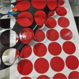 紅膜黑PE泡棉雙面膠帶 強力無痕泡沫海綿雙面膠