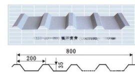 YX35-200-800彩钢瓦 彩钢压型板 彩钢穿孔压型板