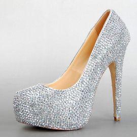 中高端時尚外貿女鞋廠訂做外貿真皮品牌單鞋