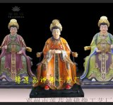 1.3米三霄娘娘神像、十二老母送子奶奶佛像
