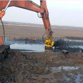jhw挖机潜水搅拌吸沙泵大口径挖掘机砂浆泵