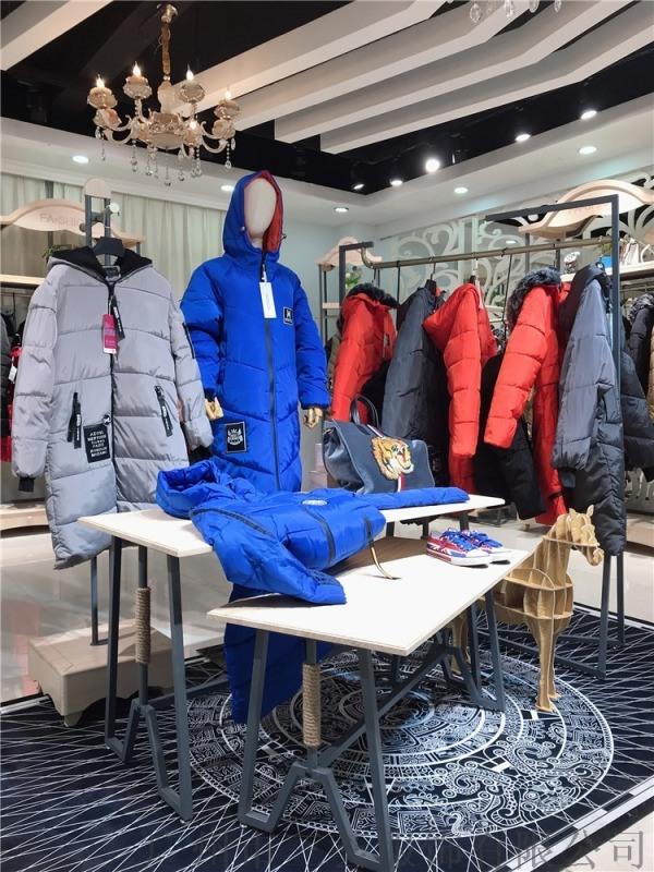 杭州雪罗拉羽绒服品牌折扣女装货源