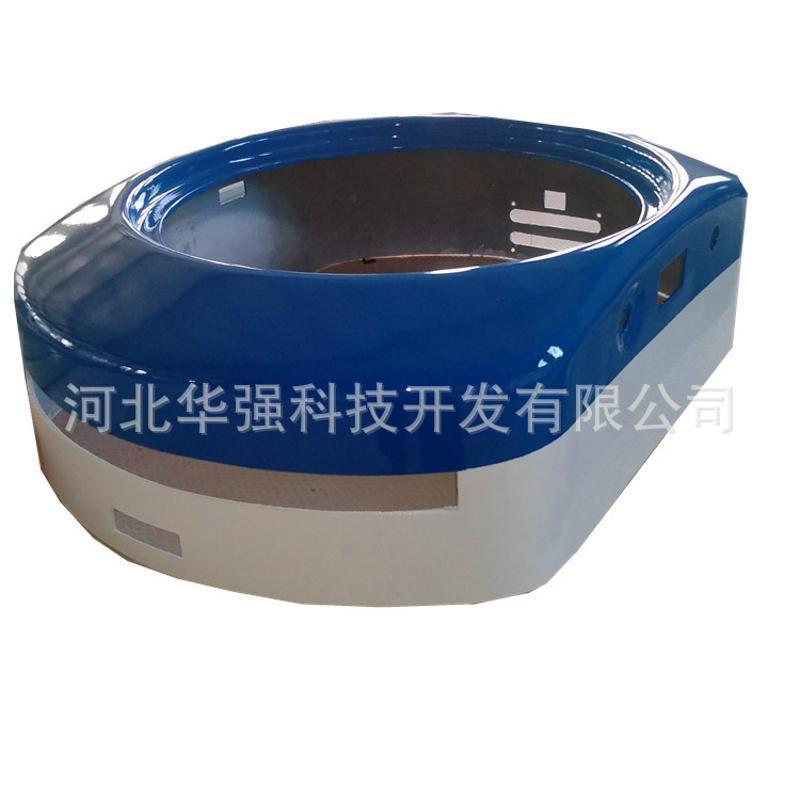 玻璃鋼外殼 物流智慧AGV分揀機器人玻璃鋼手糊噴射外殼定製