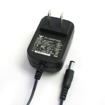 電源適配器充電器5V1.2A美規黑色