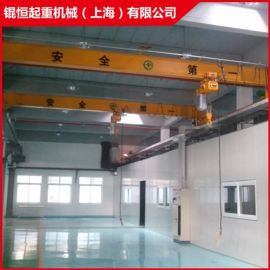 5t2t电动桥式单梁起重机 单梁行车 悬挂起重机 上海起重机