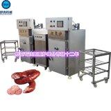 30型蒸汽加熱香腸煙燻爐掛杆式結構自動控溫配置純銅芯國標電機