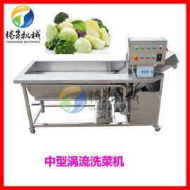 2.3米涡流洗菜机 中型高产量果蔬清洗机 洗豆芽机
