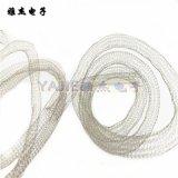 不锈钢金属空心丝网屏蔽衬垫 屏蔽铍铜空心衬垫 蒙内尔丝网屏蔽条
