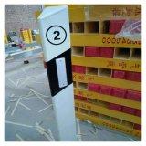 紅白警示牌玻璃鋼地埋式標誌樁