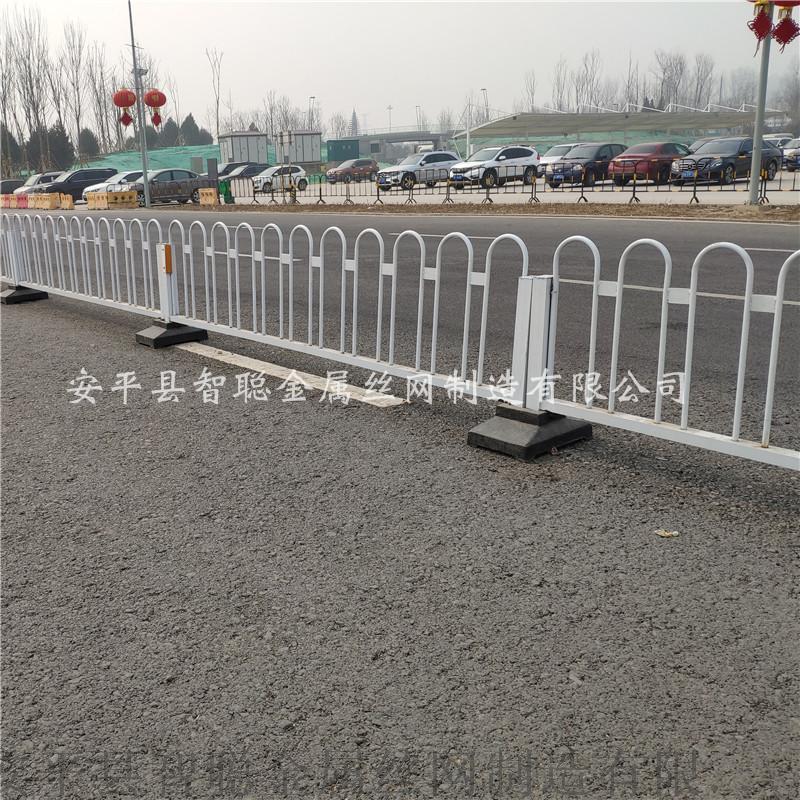 京式护栏 分隔车道隔离护栏 京式U型护栏
