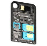 新加坡CARD SIM卡轉換工具+快閃記憶體卡