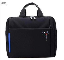 威斌新款高档彩色手提包男/女士商务单肩斜跨包笔记本电脑包