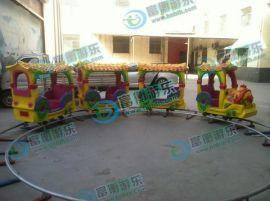儿童做的轨道小火车,广场儿童轨道小火车,郑州市电柜轨道火车厂家,