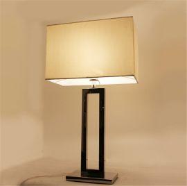 宾馆酒店客房床头台灯灯罩书房台灯布灯罩羊皮纸灯罩长方形麻布灯罩