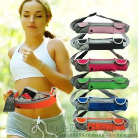 跑步運動腰包 戶外超薄隱形貼身防盜手機腰包