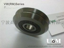 不锈钢W4X, VW4X, RM4 2RS导轨滚轮轴承