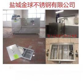 隔油池厂家**厨房油水分离器 隔油器 带式油水分离机食堂专用款