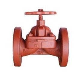 NDV进口优质阀门大口径铸铁手动隔膜阀