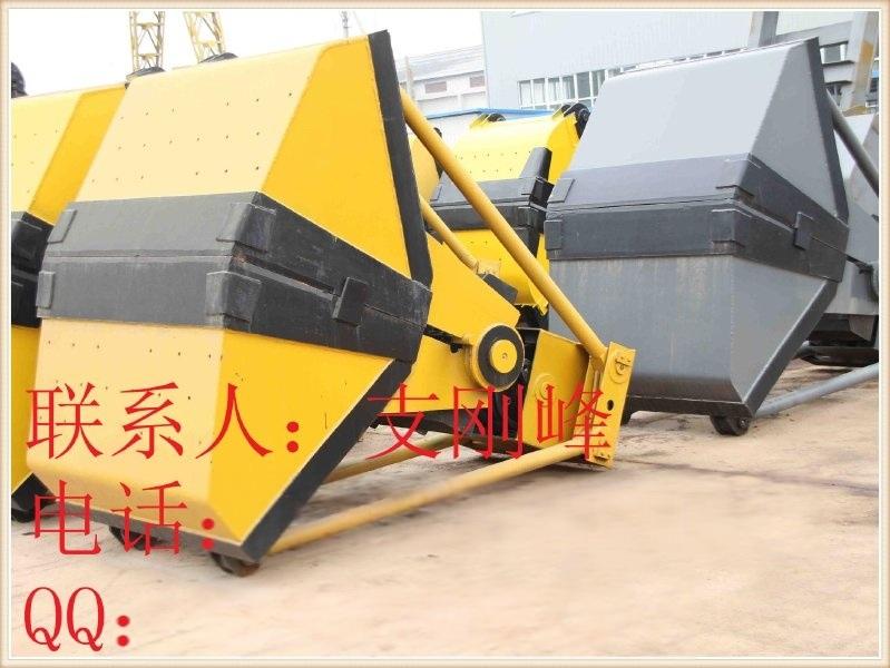 U43 1立方5吨车用四绳抓斗,抓沙斗,抓煤斗,物料斗,