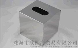 不锈钢方形抽纸盒