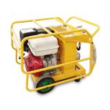 湖南怀化畅销13马力 高性能液压动力站 汽油移动式液压工作站