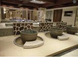 景德镇青瓦台陶瓷洗浴缸洗浴陶瓷大缸洗浴中心温泉泡澡缸