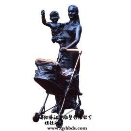 玻璃钢雕塑工艺品 步行街购物人物雕塑定做
