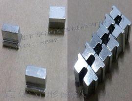 厂家直销钕铁硼磁铁定做大小头异形磁铁