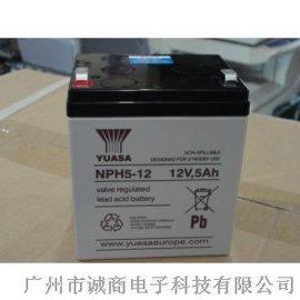 YUASA汤浅蓄电池NPH5-12(12V5AH)