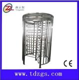 TDZ-Z704高档全高转闸厂商, 十字高旋转门, 广州商场通道刷卡滚闸