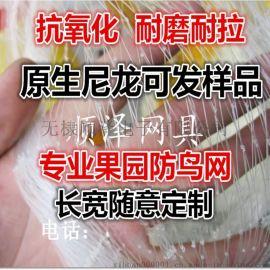 防鸟网果园葡萄网稻谷鱼塘尼龙防护网原生料防雹网鱼线网尼龙网