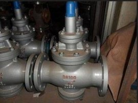 Y43W/H-16C/25P 不銹鋼鑄鋼碳鋼先導活塞式減壓閥蒸汽法蘭穩壓閥