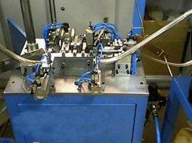 东莞供应 六站式自动焊锡机上磁板(齿轮板)自动插针铆接机 USB-A公短体自动插针机