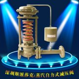法兰不锈钢自力式蒸汽压力调节阀减压阀ZZY DN50 65 80 100