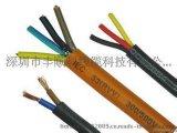 大连国标RVV2*4平方纯铜黑色挤压圆型护套软线电源线 电线