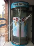 廣東子午線LEY90銀行ATM機防護艙 廣東銀行櫃員機防護艙 廣東銀行自助提款機防護艙 廣東ATM機防護艙安裝