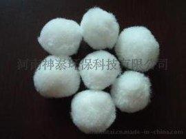 改性除油纤维球填料 精细水过滤纤维球